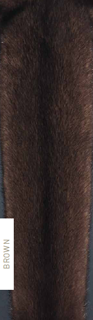 Mink Fur - Brown