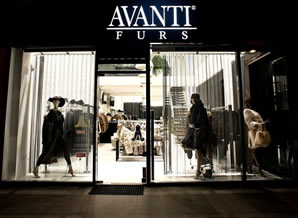 AVANTI FURS - 28th October Street 353, Shop No.1, Neapolis,Limassol, CyprusTel:+35725378777, Fax: +35725378444