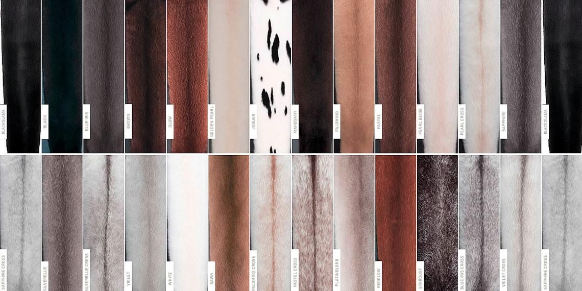 Natural Mink Colors