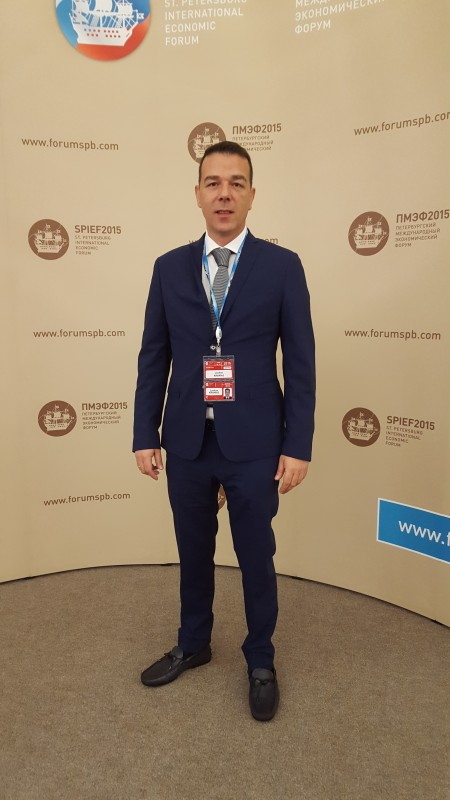 Mr. Kranias Loukas Brand owner of AVANTI FURS returns from SPIEF business forum with very positive results.