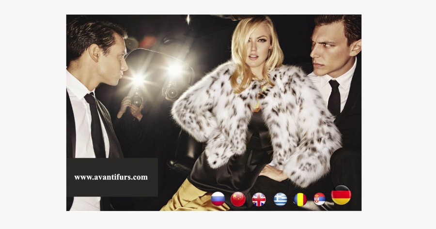 AVANTI FURS website now fully translated in German language.
