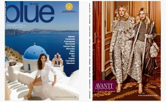 AEGEAN BLUE Magazine Russian Edition