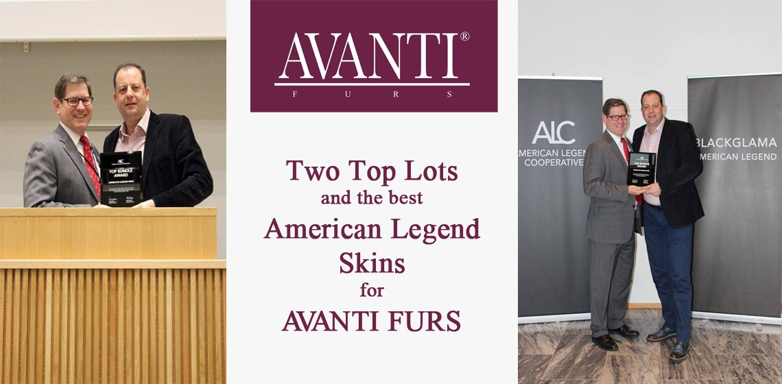 Two Top Lots and the best American Legend Skins for AVANTI FURS.