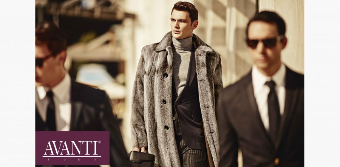 AVANTI FURS F W men's collection is ready to be explored.
