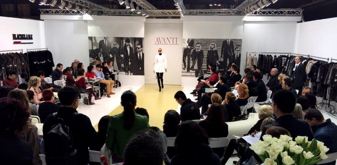 AVANTI FURS at MIFUR International Fur and Leather Exhibition 2015
