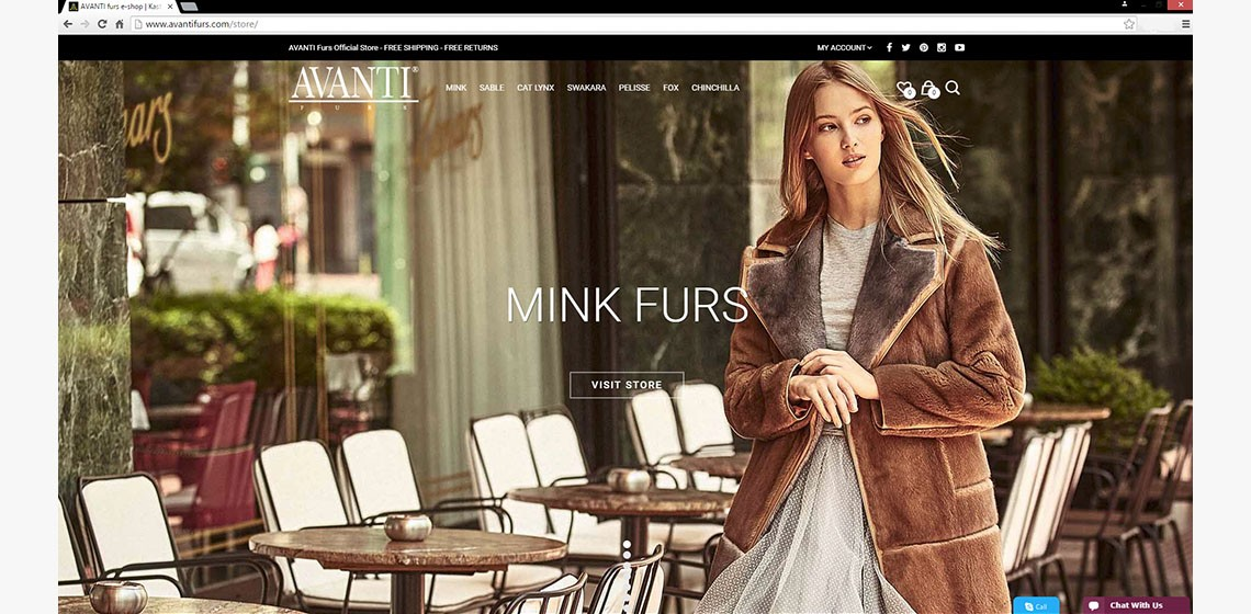 AVANTI FURS New Online Collection!!!