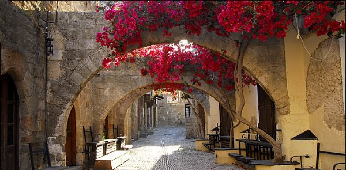 Rhodes vacation, Greek beaches, furs in great prices! Buy a fur coat in Rhodes.