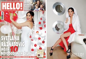 HELLO  MAGAZINE January  2013