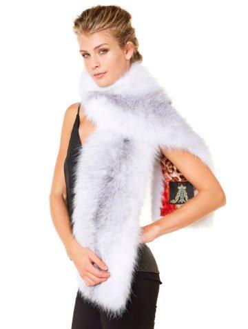 arctic-marble-fox-fur-scarf