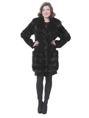 alexandra-black-silk-mink-jacket-front